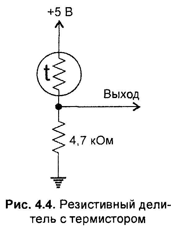 Схемы подключения термисторов